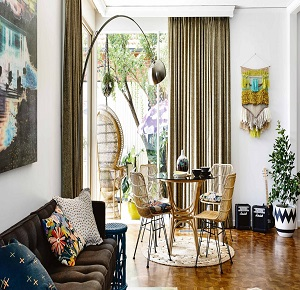 Eclectic 70's Home