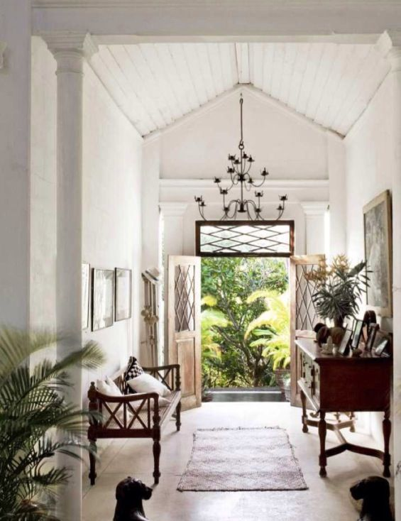 British french colonial style rooms the rhapsody for Colonial style interior decorating